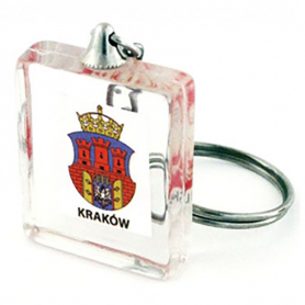 Keychain cube Cracow