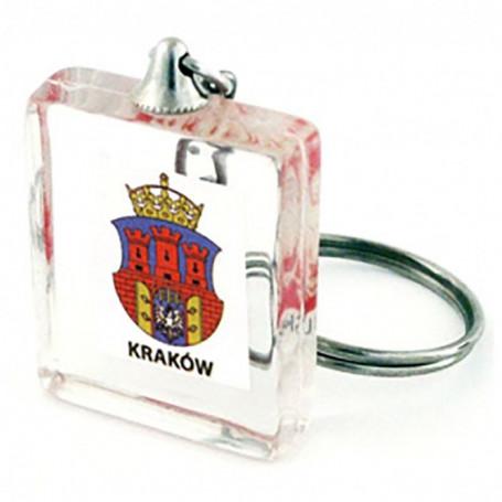 Porte-clés cube acrylique, Cracovie