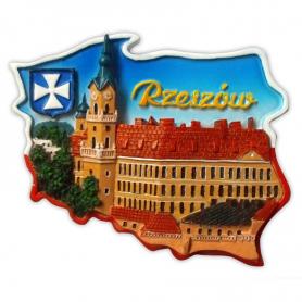 Magnetkontur des Schlosses Rzeszów