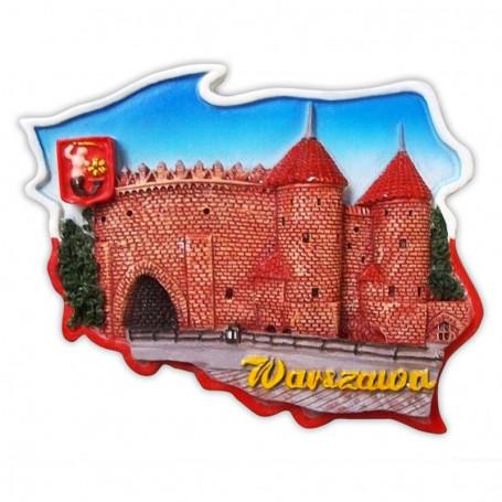 Magnes kontur Warszawa Barbakan