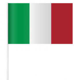 Paper flag of Italy 15 x 21 cm