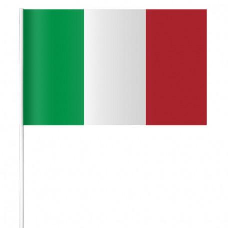 Papier drapeau de l'Italie 15 x 21 cm