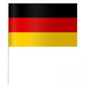 Chorągiewka papierowa Niemiec 15 x 21 cm