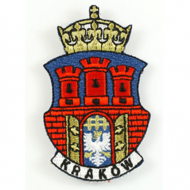 Embroidery patch coat of arms Cracow
