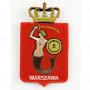 Naszywka herb Warszawy