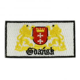 Embroidery patch coat of arms Gdansk