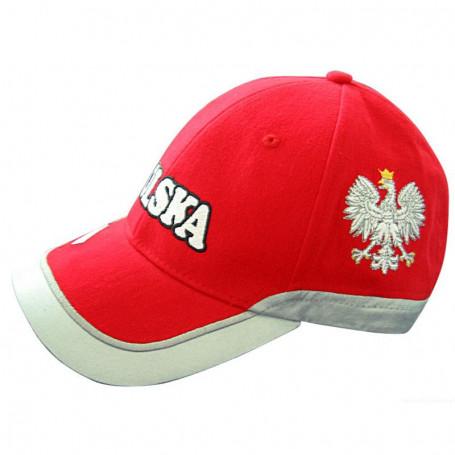 Cap POLAND piros