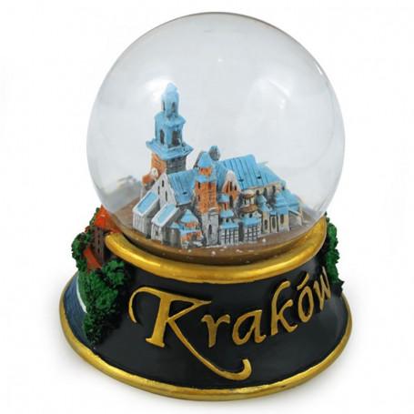 Sněhová koule 60 mm - Kraków Wawel