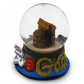 Snow globe 45 mm - Gdansk Crane