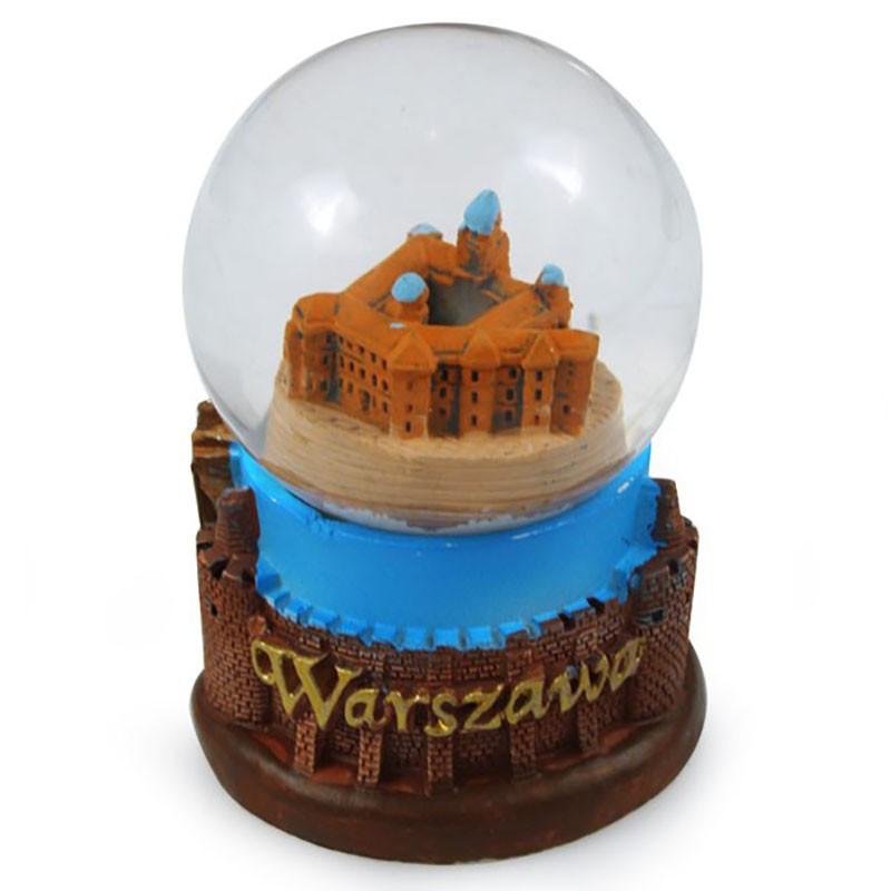 Boule de neige 45 mm - Château Royal de Varsovie