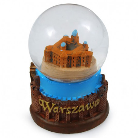 Snieglente 45 mm - Varšuvos karališkoji pilis