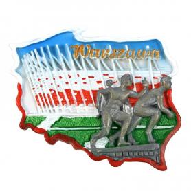 Magnetkontur Warschau Stadion