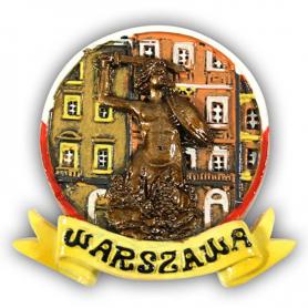 Aimant vitré Varsovie Mermaid