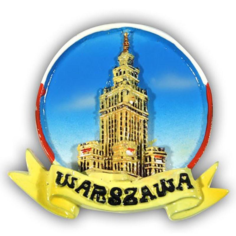 Aimant vitré palais de la culture de Varsovie