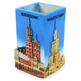 Pencil box on desk Poland