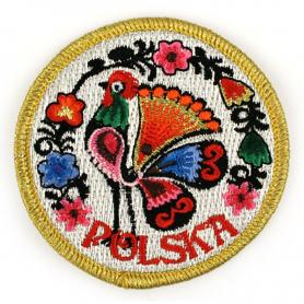 Embroidery patch folk Poland