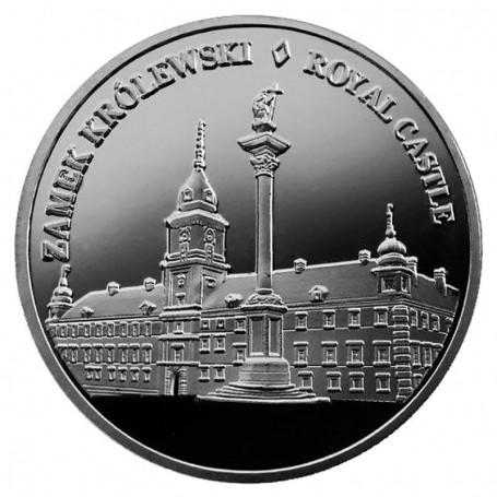Moneta Zamek Królewski srebrna