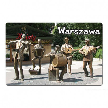 Aimant avec un effet 3D Warsaw Praga