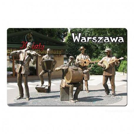 Magnes na lodówkę z efektem 3D Warszawa Praga