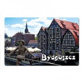 3D fridge magnet Bydgoszcz granary