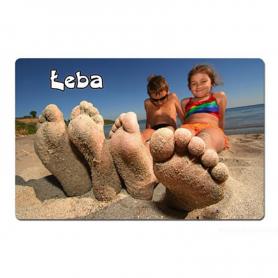 3D fridge magnet Leba