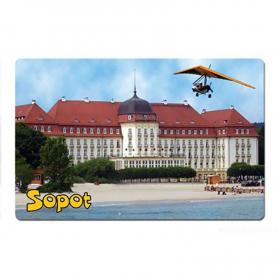 3D fridge magnet Sopot Hotel