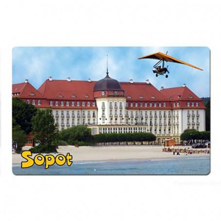 Magnes z efektem 3D Sopot Hotel