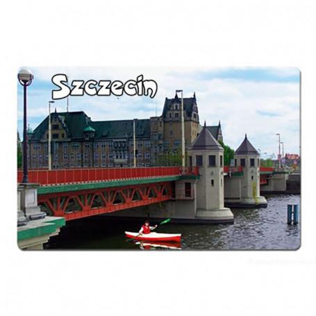 Magnet mit 3D-Effekt Szczecin Brücke