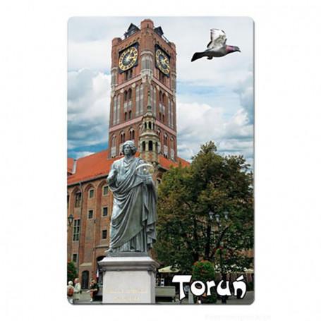 Aimant avec un effet 3D Toruń Ratusz