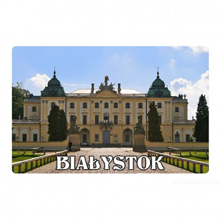 Magnetas su 3D efektu Białystok Pałac Branicki