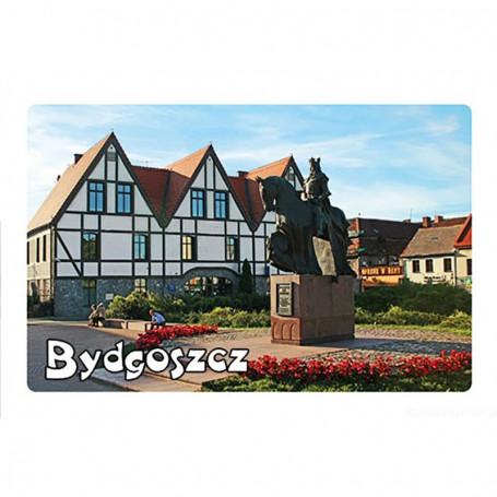 Magneetti 3D-vaikutuksella Bydgoszczin muistomerkki