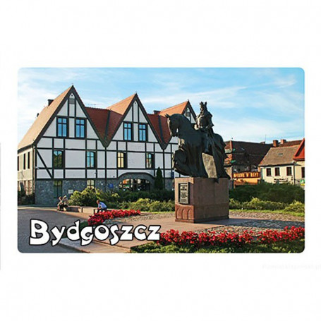 Magnet med 3D-effekt Bydgoszcz monument