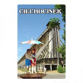 3D fridge magnet Ciechocinek