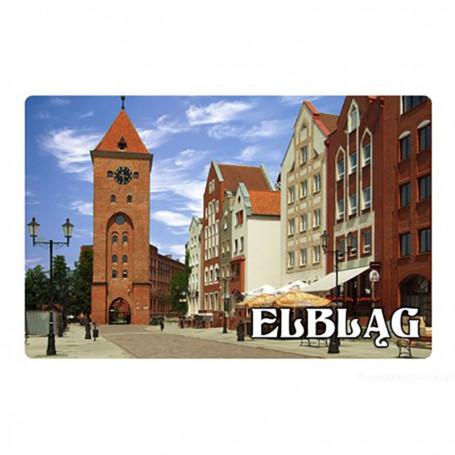Imán con un efecto 3D Elbląg Gate