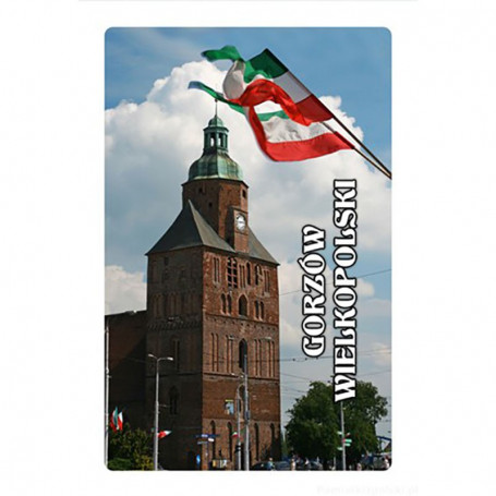 3D fridge magnet Gorzow Wielkopolski