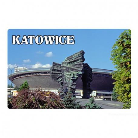 Imán con efecto 3D Katowice Spodek