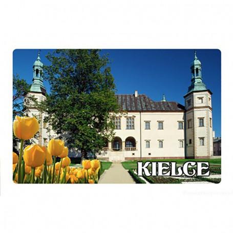 Magneetti, jolla on 3D-vaikutus Kielce Piispan palatsi
