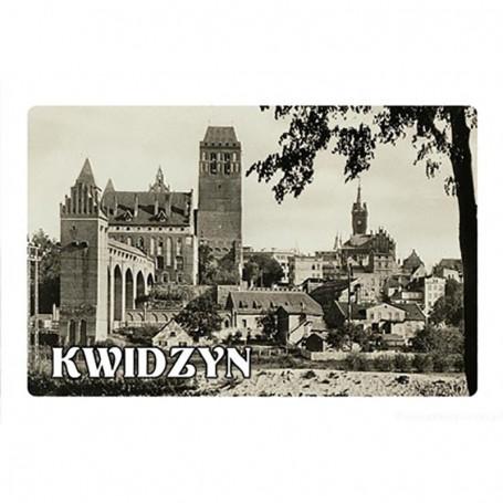 Imán con efecto 3D Kwidzyn
