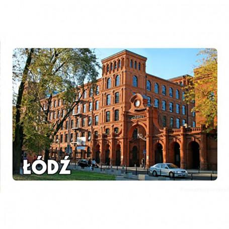 Imán con un efecto 3D Łódź Manufactory Gate