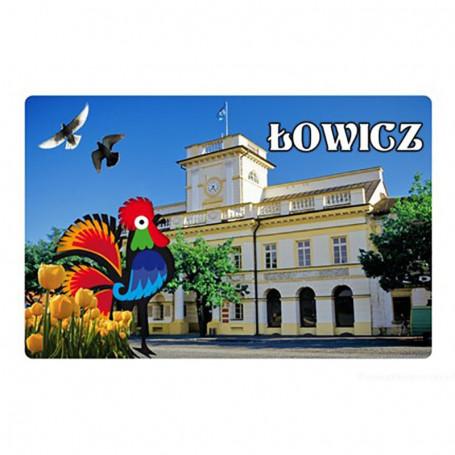 Imán con efecto 3D Łowicz