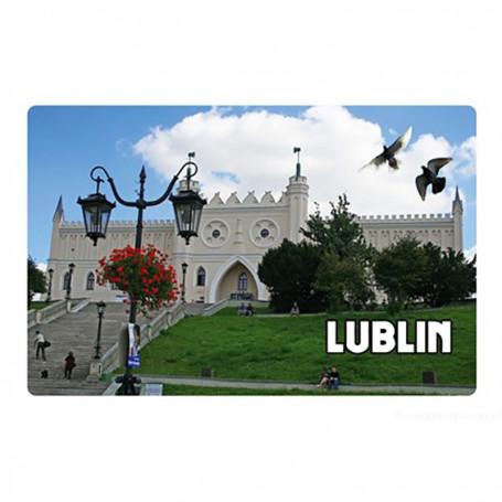 Imán con efecto 3D Castillo de Lublin