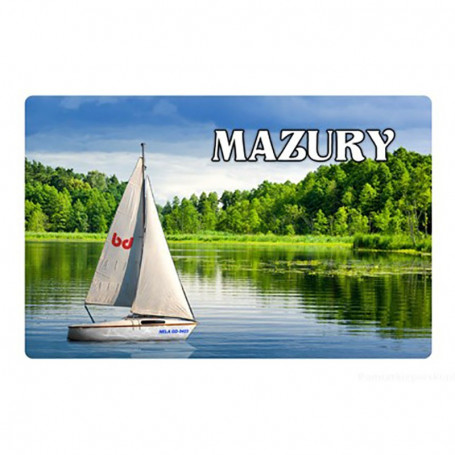 Magnet s efektem 3D Mazury