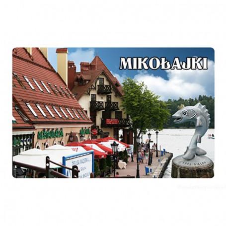 Imán con efecto 3D de Mikołajki