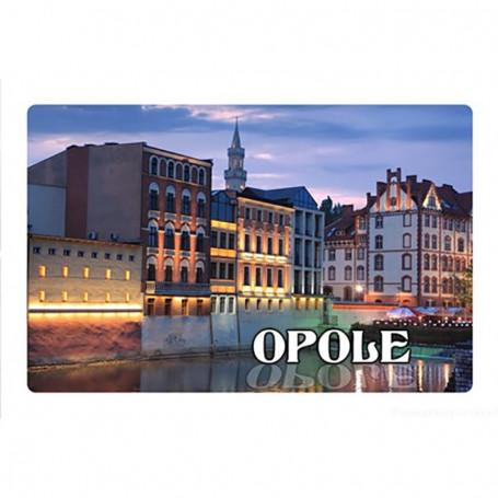 Imán con efecto 3D Opole
