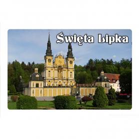 3D fridge magnet Swieta Lipka