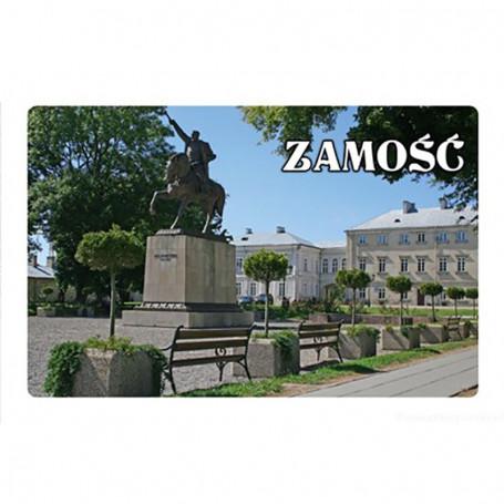 Magnes na lodówkę z efektem 3D Zamość Pałac Zamoyskich