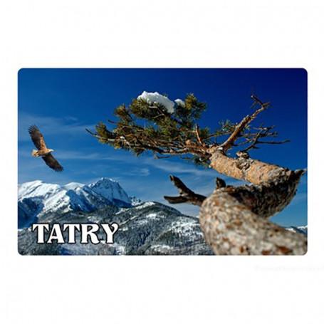 Aimant avec un effet 3D Zakopane Tatry