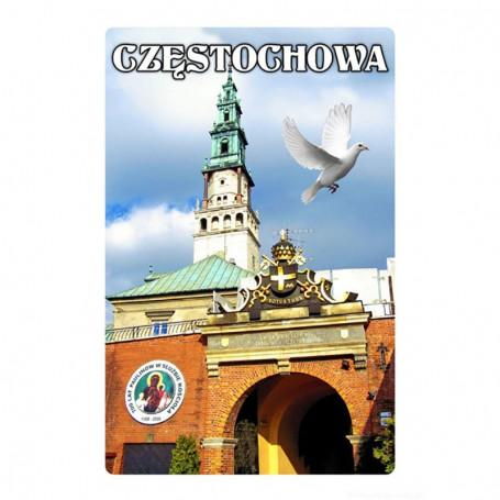 Imán con efecto 3D Puerta de Czestochowa