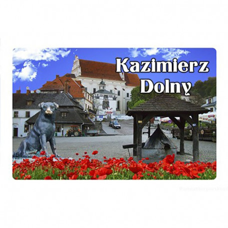 Magnes na lodówkę z efektem 3D Kazimierz Dolny