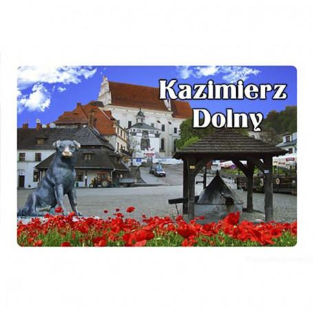 Magnetas su 3D efektu Kazimierz Dolny
